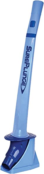 SurePlunge Automatic Toilet Plunger: Our Best Plunger Ever. Extremely Effective. Heavy
