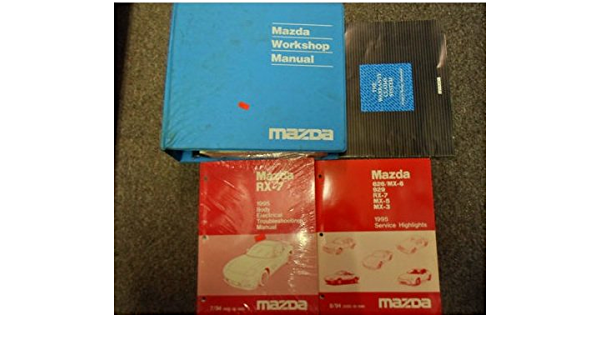 1995 Mazda Rx7 Rx 7 Service Repair Shop Manual Set Factory Oem Book 95 Mazda 1995 Mazda Rx 7 Service Repair Manual 1995 Mazda Rx 7 Wiring Diagram Manual Mazda Amazon Com Books