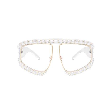 RinV Sra. De Moda Perla Gafas De Sol Costilla Lujo Europa Y ...