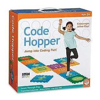 MindWare Code Hopper- Computer Coding Fun! Active Game for Preschoolers