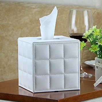 Tissue Box , Napkin Paper Holder, TTrees PU Leather: Amazon.co.uk ...
