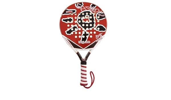 Padel Lobb Pala Epsilon rojo / negro / blanco: Amazon.es: Deportes y aire libre