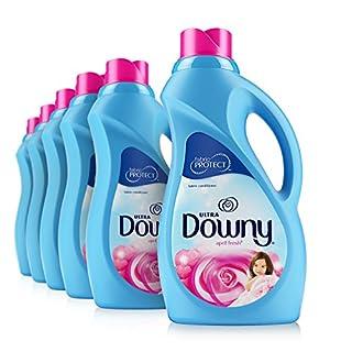 Downy Ultra April Fresh Liquid Fabric Softener 40 Loads 34 Fl Oz (Pack of 6)