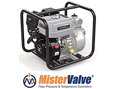 Mistervalve Portable Gasoline Water Pump Model WG 20 irrigation pumps, washing systems, water supply systems, water treatment plants