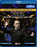 Mahler:Symphonies Nos 4 & 5 [Valery Gergiev, Camilla Tilling; World Orchestra for Peace] [C MAJOR ENTERTAINMENT: BLU RAY] [Blu-ray] [2015]