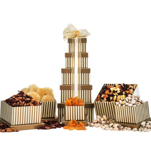 Dry Fruit & Nut Tower by Gift Basket by Gift Basket (Image #1)