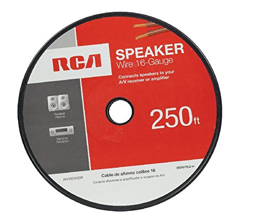 RCA AH16250SN 16-Gauge 250 feet Speaker Wire