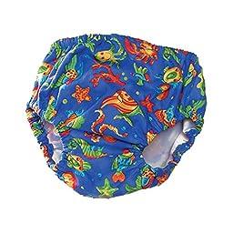 Swim Diaper - Blue, Small