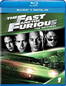 the fast and the furious blu ray vin diesel paul walker michelle rodriguez. Black Bedroom Furniture Sets. Home Design Ideas