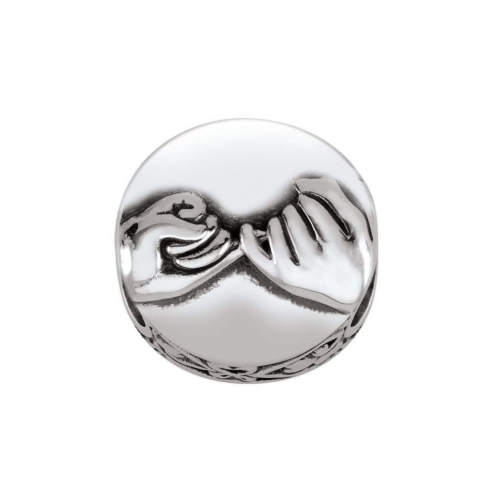 Persona 925 Sterling Silver Promise Hands Charm Bead H15192P1
