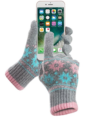 Touch Screen Gloves, GreatShield COZY [All Fingers | 95% ...