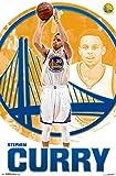 Trends International NBA Golden State Warriors Stephen Curry Wall Poster 22.375' x 34'