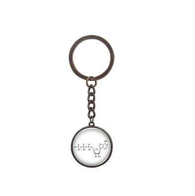 Amazon.com: Molécula llavero – Química joyas – Molécula ...