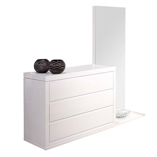 Amazon.com: Victoria 3 cajón Dresser con espejo: Kitchen ...