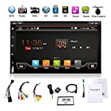 2G 32G Wifi Model Android 6.0 4 Core 6.95'' Universal Car DVD CD player 2 din Stereo Navigation support Bluetooth OBD DBA Subwoofer Mirror Link USB up to 128GB free Camera & External Microphone