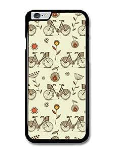 "AMAF ? Accessories Bike Pattern Retro Vintage Colour case for for iPhone 6 Plus (5.5"")"
