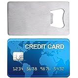 1x Metal Credit Card Beer Bott