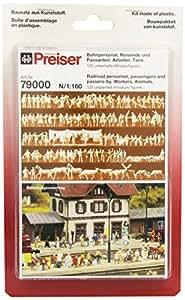 Preiser 1/160 Ème - Figura para modelismo ferroviario (PR79000)