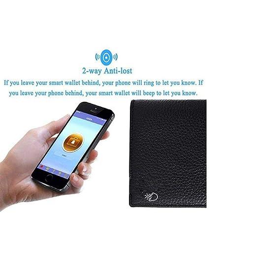 Amazon.com: Cartera inteligente Bluetooth con alarma y ...