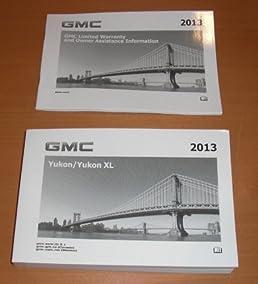 2013 gmc yukon yukon xl owners manual gmc amazon com books rh amazon com