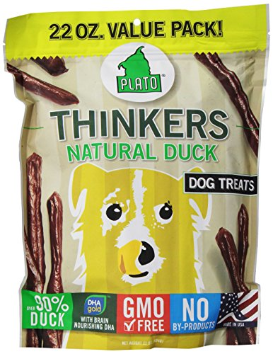 Plato Pet Treats Duck Thinkers