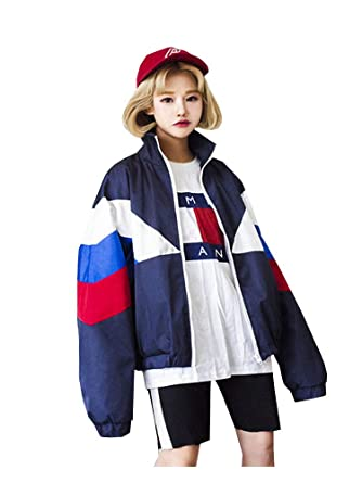原宿系 アウター ウィンドブレーカー レディース ダンス 衣装 秋冬 ファッション おしゃれ HIPHOP 長袖 シンプル TOKYO9 フリーサイズ