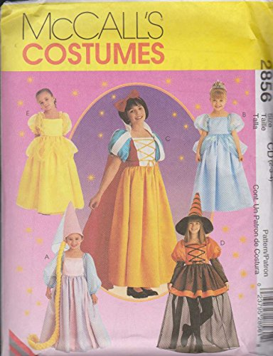 Children's And Girls Storybook Costumes McCall's Costumes Sewing Pattern 2856 (Size: 2-3-4)