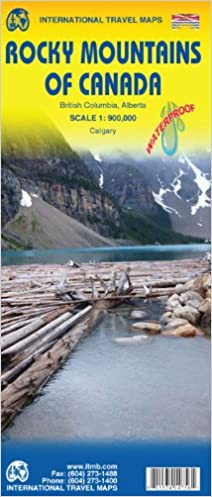 Rocky Mountains of Canada 1 : 900 000: Amazon.de: Bücher