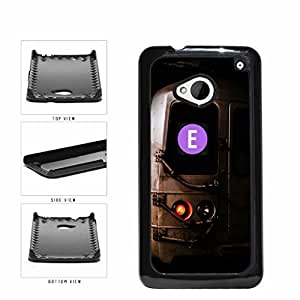 Personalized NYC Train Custom Letter E Plastic Phone Case Back Cover HTC One M7