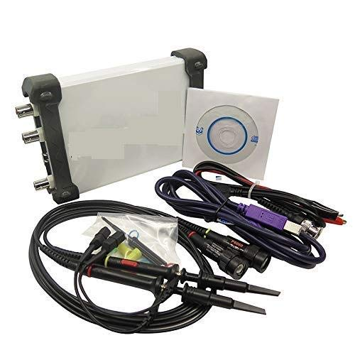 (4 in 1 Multifunctional PC USB Virtual Digital Oscilloscope+Spectrum Analyzer+DDS+Sweep Signal Generator 60M 200MS/s)