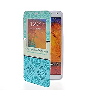 MOONCASE Cute Pattern Slim Fit Flip Leather Wallet Pouch Stand Case Cover For Samsung Galaxy Note 3 N9000