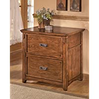 Medium Brown Lateral File Cabinet Dimensions: 30.00W x 22.00D x 30.13H Weight: 106 Lbs