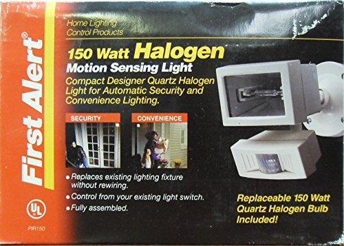 First Alert Night Lights (FIRST ALERT PIR150 150 Watt Halogen Motion Sensing Light)