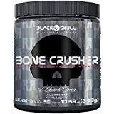 Pré Treino Bone Crusher, 300G, Black Skull Sabor Radioactive Lemon (Limão)