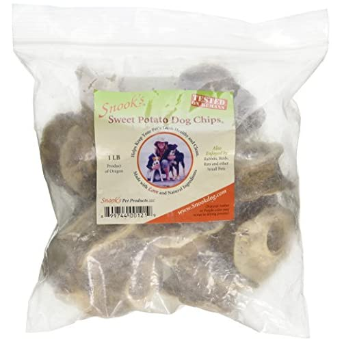 Snook's Sweet Potato Chips for Dogs 1 Pound Bag hot sale