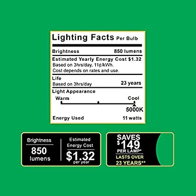 Sunco Lighting 16 Pack BR30 LED Light Bulb 11 Watt (65 Equivalent) 4000K Cool White 850 Lumens, 25,000 Hours, Flood, Dimmable, Indoor/Outdoor, Home, Office and More - UL & Energy Star Listed