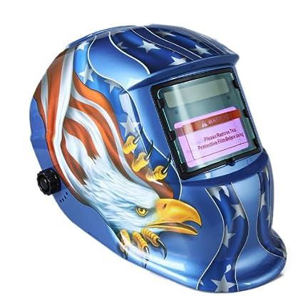 TIMETOP - Careta de soldadura automática (con protección UV e infrarrojos), diseño de