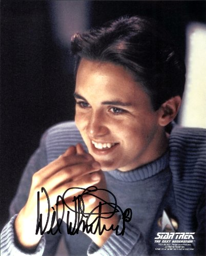 Will Wheaton Star Trek Signed Autographed 8 X 10 Reprint Photo - Mint Condition