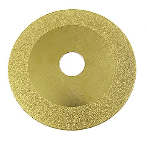 DealMux 4 Diamond Coated Glass Grinding Grind Disc Wheel Gold Tone