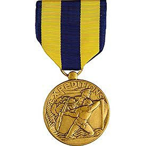 Medal Expeditionary Navy (United States Military Armed Forces Full Size Medal - USN Navy - Navy Expeditionary)
