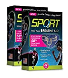 Sport Intra-Nasal Breathe Aids from SleepRight – Breathing Aids For Sports – Nasal Dilator for Athletes (2-Pack)