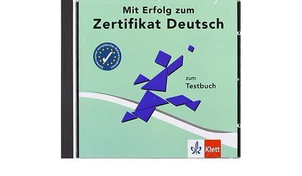 MIT Erfolg Zum Zertifikat Deutsch: CD Zur Testbuch (German Edition ...