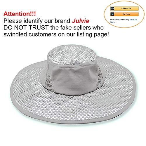 Julvie Arctic Hat Summer Ice Cap Sun Hat Cooling Hat for Women Men