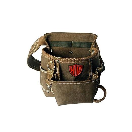 Cinturón ajustable, cinturón de trabajo de liberación rápida, bolsa de herramientas resistente, soporte para herramientas de trabajo para albañiles, ...