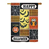 "Halloween Happy Large Flag 28""x 40"""