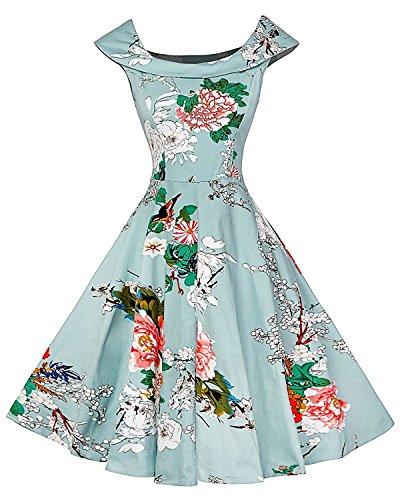 50s hawaiian dress - 1