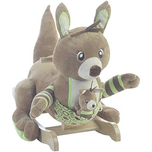 Rockabye Roo Roo The Kangaroo Ride On by Rockabye