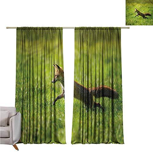 zojihouse Fox Darkening and Thermal Insulating Window Curtains ()