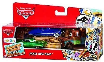 Mattel Cars - Pack Cars 3 Coches - Fancy New Road: Amazon.es: Juguetes y juegos