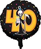 Grim Reaper 40th Birthday Balloons